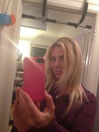 selfie z włosami