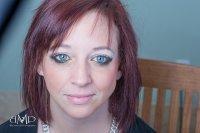kolorowy make-up