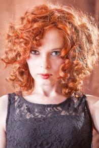 zadbane rude włosy