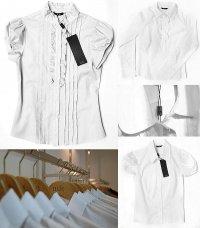 biała koszula zawsze w modzie